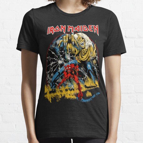 Camiseta Iron Maiden Vintage 1982 1 Camiseta esencial