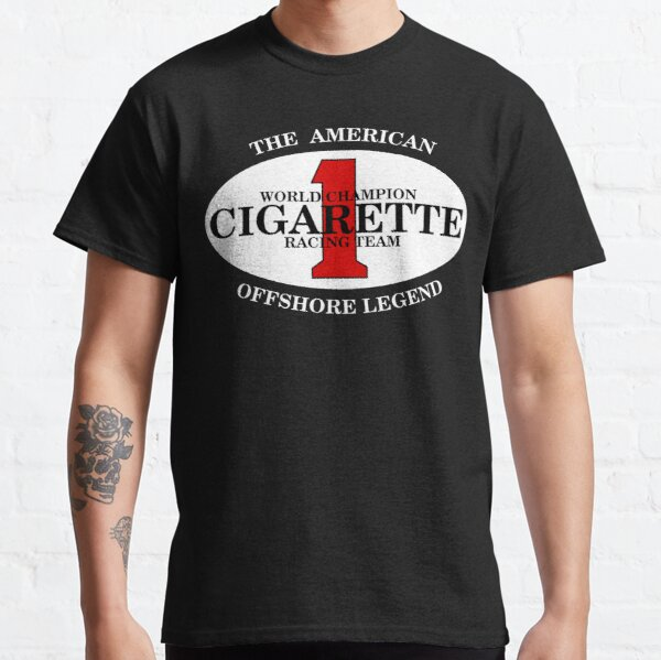 Cigarette Racing Team Power Boats BACK SIDE Classic T-Shirt