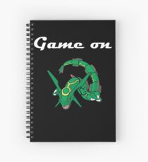 Game on Rayquaza Spiral Notebook