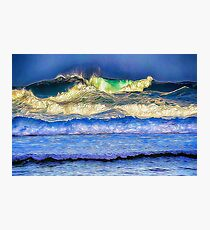 High Surf  Photographic Print