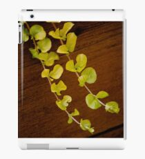 Green Tendrils iPad Case/Skin