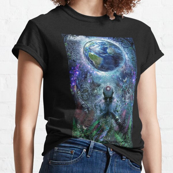 Gratitude For The Earth And Sky Classic T-Shirt