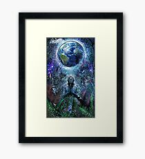 Gratitude For The Earth And Sky, 2015 Framed Print