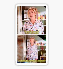 Buffy's Yummy Sushi Pyjamas  Sticker