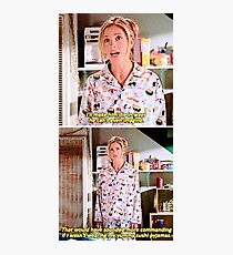 Buffy's Yummy Sushi Pyjamas  Photographic Print