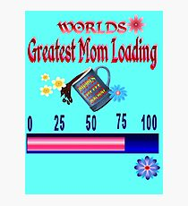 World's Greatest Mom  Photographic Print