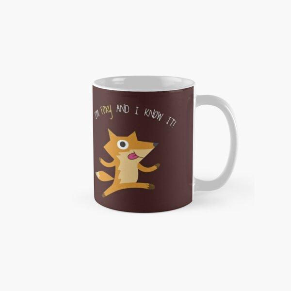 I'm Foxy & I Know It! Fox Classic Mug