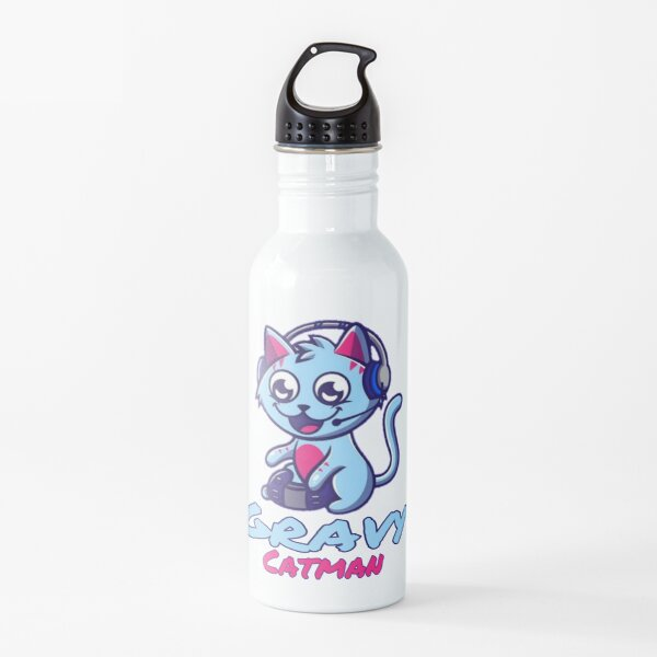 Gravycatman gamer  Water Bottle