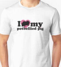 I LOVE MY POTBELLIED PIG T-Shirt