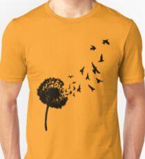Dandelion Flying Seeds Unisex T-Shirt