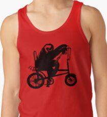 Sloth Riding a Bike Tank Top