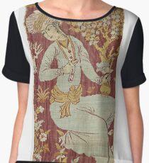 Vintage famous art - Anonymous - Textile Fragment Women's Chiffon Top
