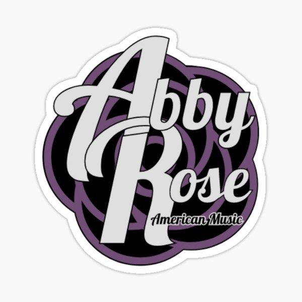 Abby Rose - American Music Logo Large Sticker