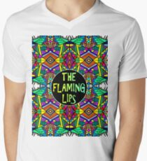 The Flaming Lips - Psychedelic Pattern 1 Men's V-Neck T-Shirt