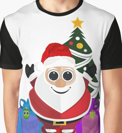 Santa Claus - Christmas Graphic T-Shirt