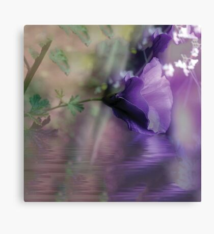 Dreaming in Purple #2 Canvas Print