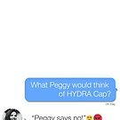 """Hayley Atwell: """"Peggy says no!"""" by achiib"""