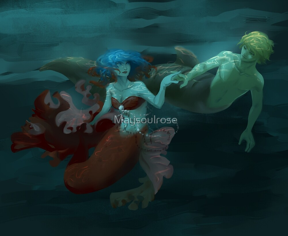 Quot Miraculous Ladybug Mermaids Quot By Maysoulrose Redbubble