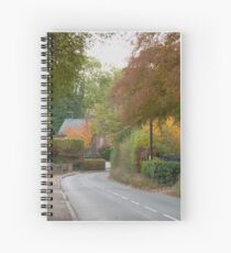 Colours of Autumn (2) Spiral Notebook