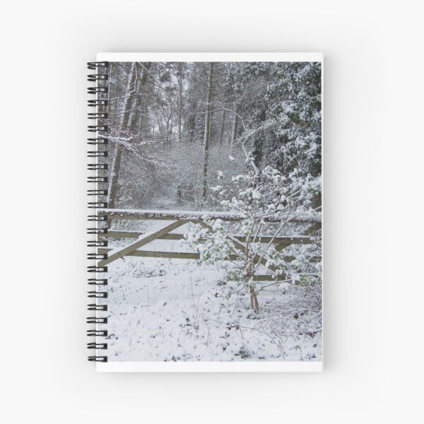 GATEWAY TO THE SNOW Spiral Notebook
