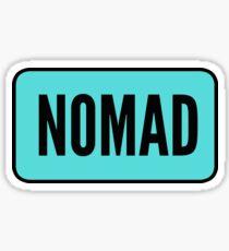 Nomad. Sticker