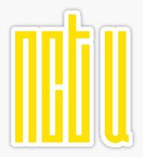 Pegatina NCT U Logo Amarillo