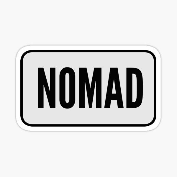 Nomad Sticker
