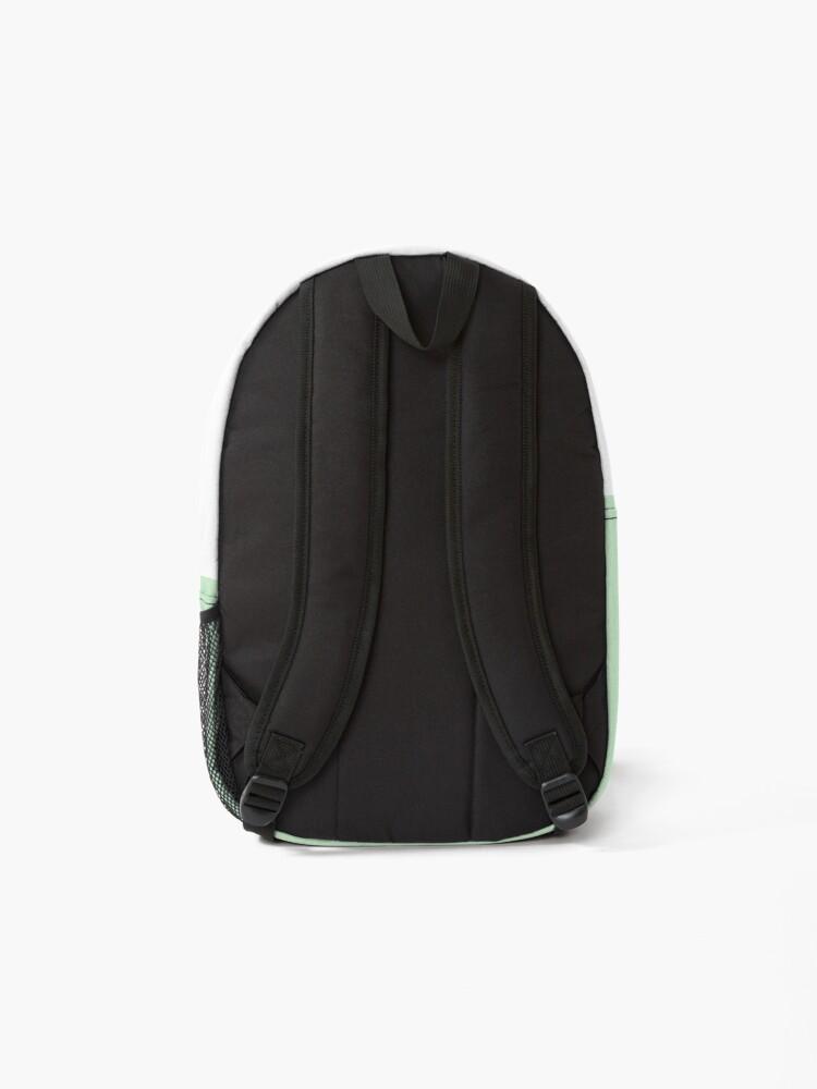Alternate view of Cute Little Panda Gamer With Headphones Backpack