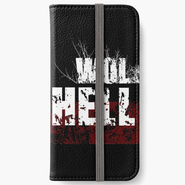 Wolfhell Absurd Big Monster Fish iPhone Wallet