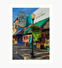 Historical Whiskey Row Prescott Arizona Art Print