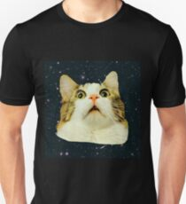 Stunned Space Cat Unisex T-Shirt