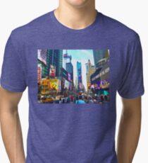 nyc (three) Tri-blend T-Shirt