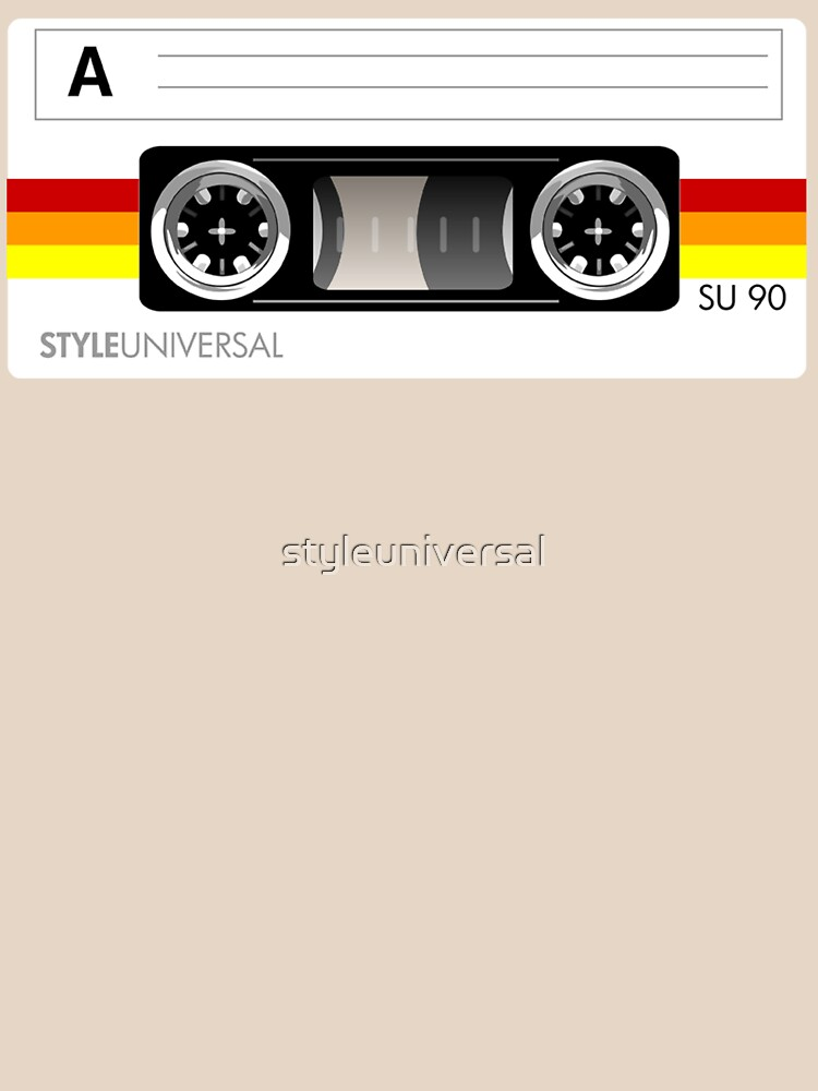 Cassette tape vector design by styleuniversal