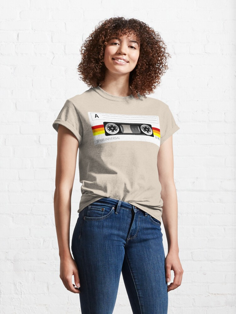 Alternate view of Cassette tape vector design Classic T-Shirt