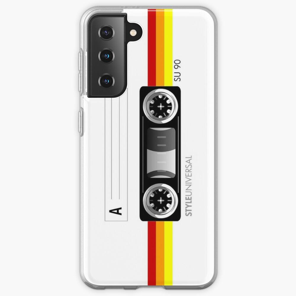 Cassette tape vector design Case & Skin for Samsung Galaxy