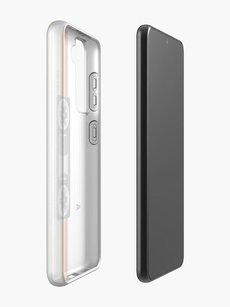 Alternate view of Cassette tape vector design Case & Skin for Samsung Galaxy