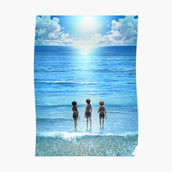 L'océan Poster