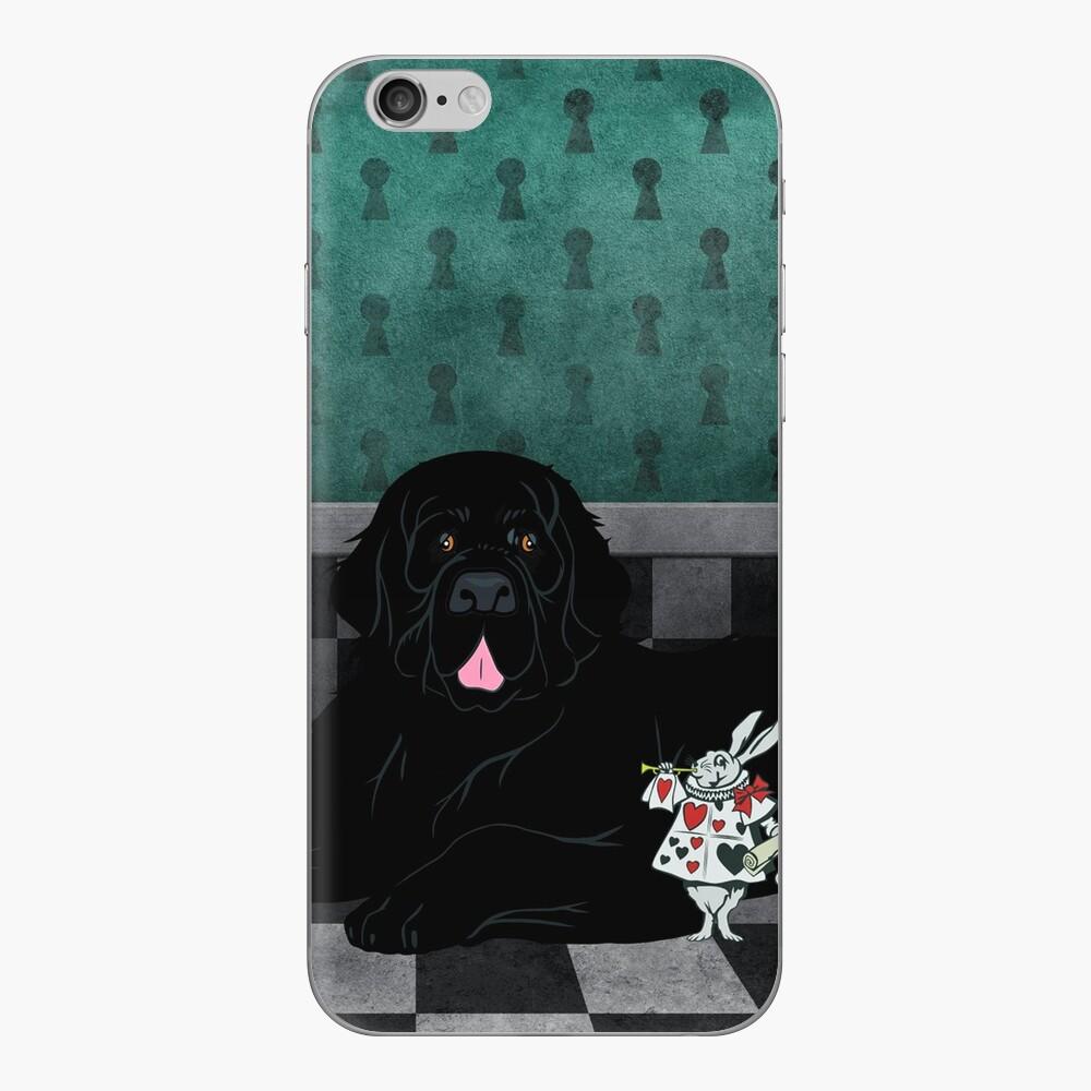 Newfoundland Dog Chillin' iPhone Skin