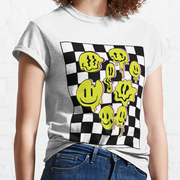 Hypnotic trippy lies pink version Classic T-Shirt