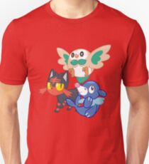 Pokemon Sun and Moon Starters T-Shirt