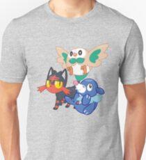 Pokemon Sun and Moon Starters T-Shirt