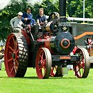 Traction Engine by Kawka