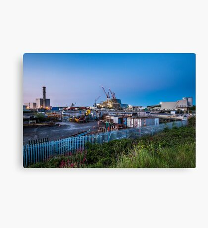 Poolbeg Incinerator, Dublin Canvas Print