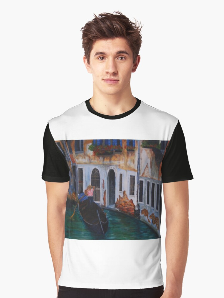 emerald waters Graphic T-Shirt Front
