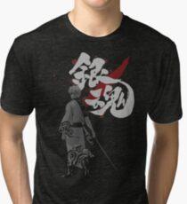 Sakata Gintoki - Gintama anime Tri-blend T-Shirt