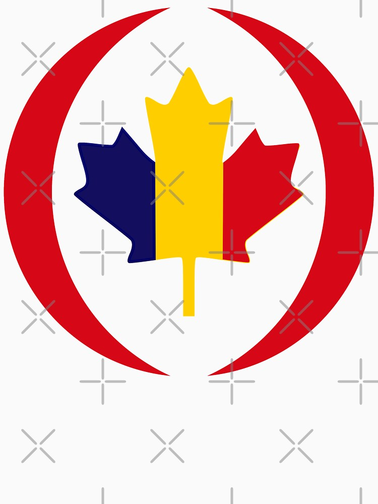 Romanian Canadian Multinational Patriot Flag Series by carbonfibreme