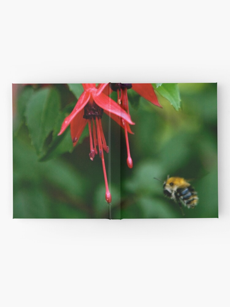 Alternate view of Wild Fuchsia at Loch Na Fooey (tall) Hardcover Journal