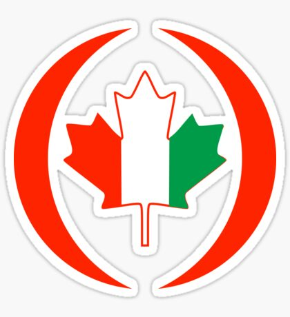 Ivory Coast Canadian Multinational Patriot Flag Series Sticker