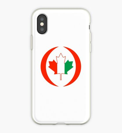 Ivory Coast Canadian Multinational Patriot Flag Series iPhone Case
