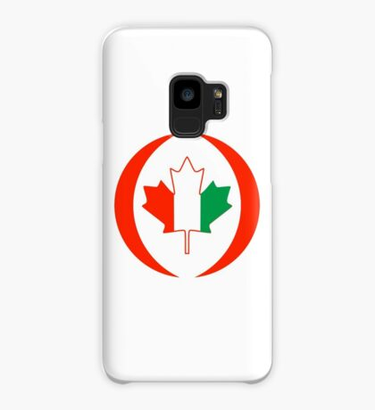 Ivory Coast Canadian Multinational Patriot Flag Series Case/Skin for Samsung Galaxy